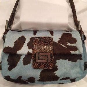 CACHE Cowhide bag